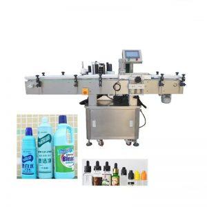 Automatisk desinfiserende væskeflaskemerkingsmaskin
