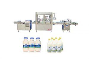 Automatisk flytende påfyllings- og avslutningsmaskin for 250 ml 500 ml