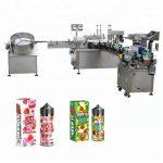 5-35 flasker / min automatisk væskefyllingsmaskin for 10 ml / 30 ml glassflaskedråper