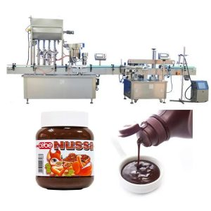 Automatisk tomatsausflaskefyllingsmaskin 10 ml