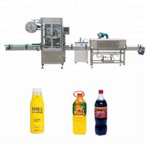 Automatisk krympemaskin for flaskehylser