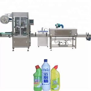 Flaskemerkingsmaskin brukt til PLLC-kontroll med rund flaske
