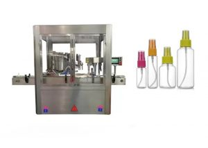 Helautomatisk parfymfyllingsmaskin farge berøringsskjerm
