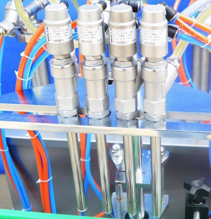 Glassflaske automatisk flytende fyllemaskin