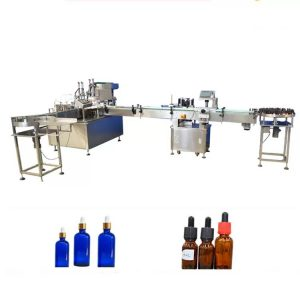 PLC Control Essential Oil Flaske Fyllemaskin