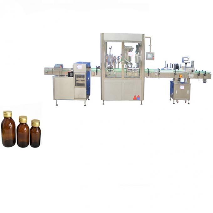 Stempelpumpe automatisk væskefyllingsmaskin