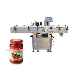 Produktetiketteringsmaskin for runde flasker