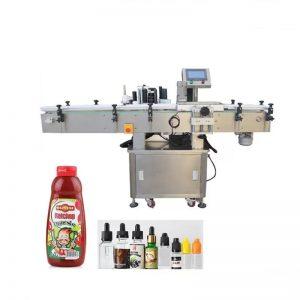 Runde produkter emballasje- og merkemaskin