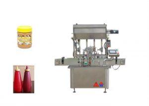 Semi - Liquid Sauce Paste Bottle Filling Machine