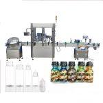 Servomotor dropper flaske påfyllingsmaskin, berøringsskjerm kontroll parfyme capping maskin