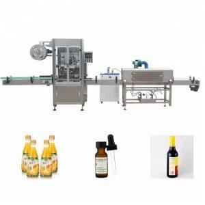 Sleeve Shrinking Bottle Labelling Machine