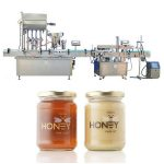 Rustfritt stempel automatisk væskefyllingsmaskin brukt i farmasøytiske / kosmetiske industrier