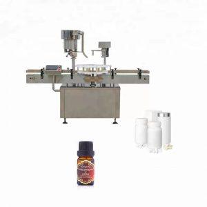 Rustfritt stål flaske capping maskin brukt i medisin
