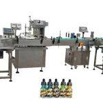 To hoder helautomatiske flaskefyllingsmaskiner for 30 ml ravflasker